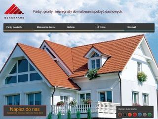 Renowacyjna farba do malowania dachu – sprawdź ofertę