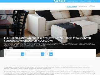 Noclegi – luksusowe mieszkanie – Warszawa Centrum