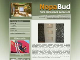 nopabud.pl – profesjonalne usługi budowlane w Małopolsce