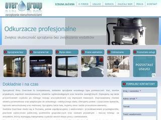 Overgroup – firma porządkowo-sprzątająca z Poznania
