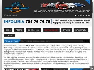 Sprawdzony skup aut – Lubin